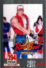 Real Bout Fatal Fury Special Cover (Click to enlarge)
