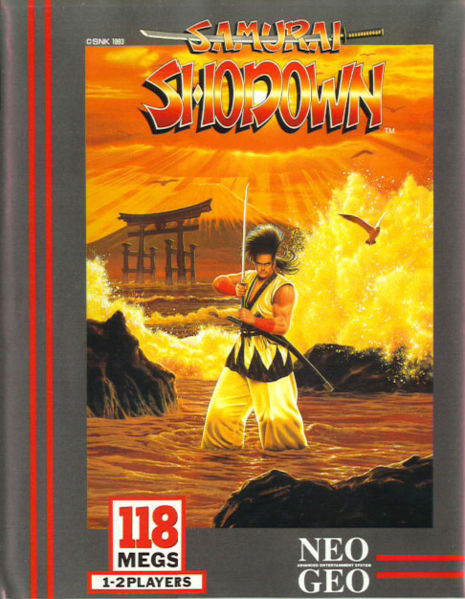 Samurai Shodown Cover Artwork