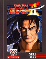 Samurai Shodown II Cover (Click to enlarge)