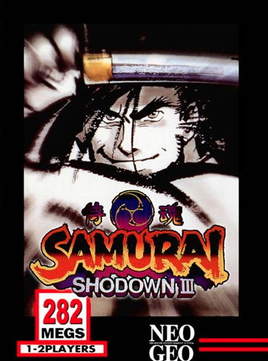 Samurai Shodown III Cover Artwork