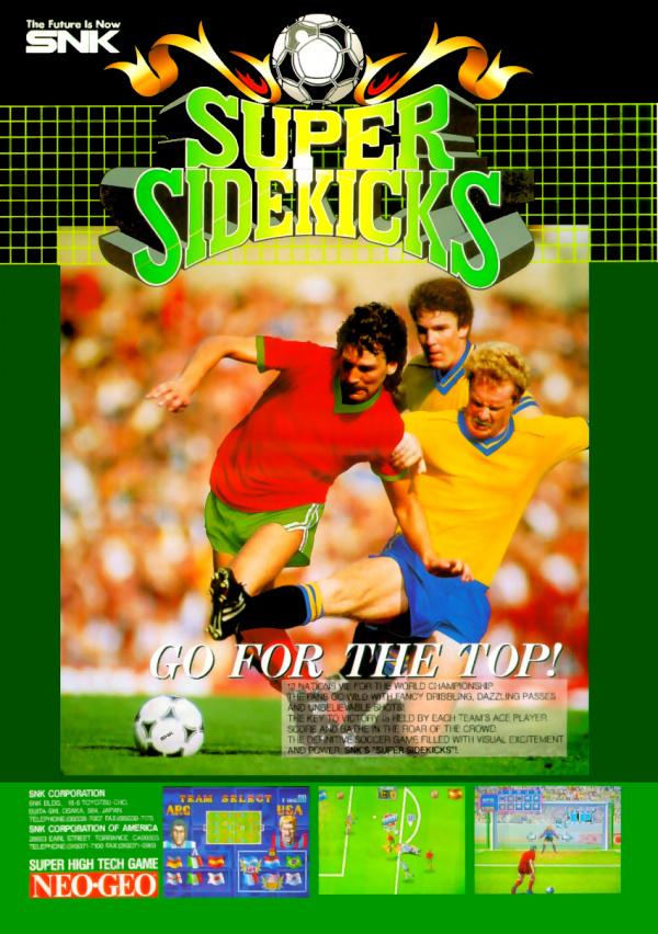Super Sidekicks Review Switch EShop Neo Geo