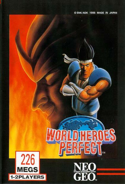 World Heroes Perfect Cover Artwork