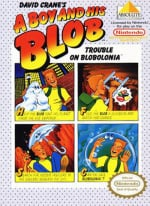 A Boy and His Blob: Trouble on Blobolonia Cover (Click to enlarge)
