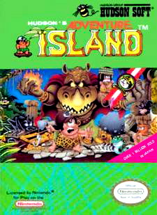 Adventure Island Cover Artwork