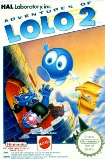 Adventures of Lolo 2 Cover Artwork