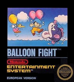 Balloon Fight Cover Artwork