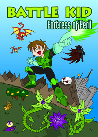 Battle Kid: Fortress of Peril Cover Artwork