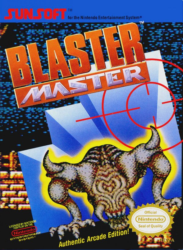 Blaster Master Cover Artwork