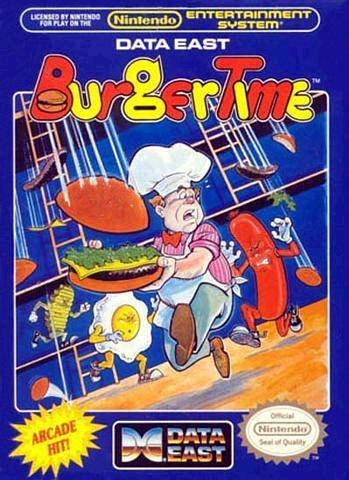 BurgerTime Cover Artwork