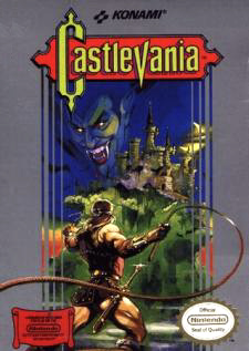 Castlevania Cover Artwork