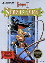 Castlevania II: Simon's Quest Cover (Click to enlarge)