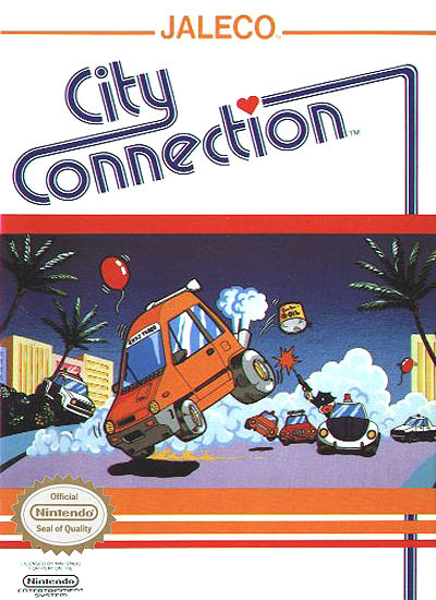 City Connection Cover Artwork