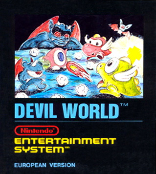 Devil World Cover Artwork