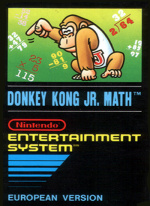 Donkey Kong Jr. Math Cover (Click to enlarge)