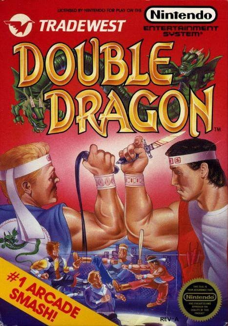 Double Dragon Cover Artwork