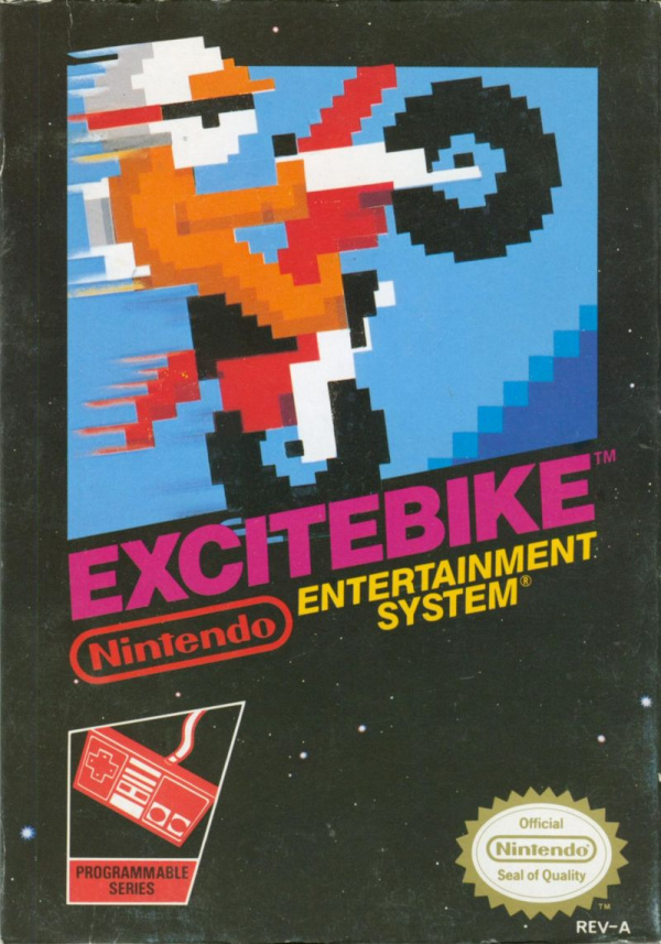 Excitebike Cover Artwork