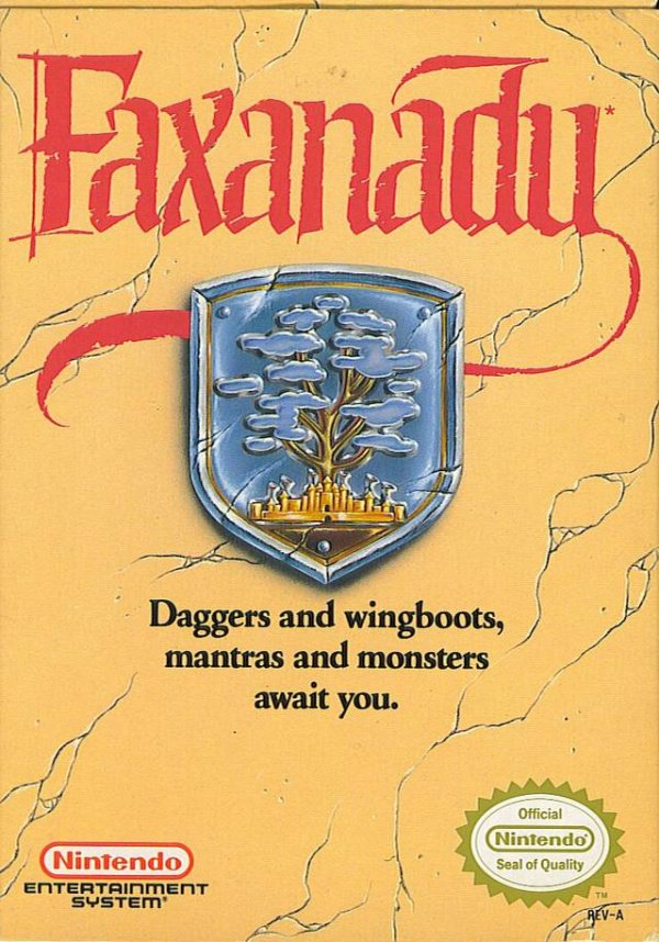 Faxanadu Cover Artwork