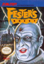 Fester's Quest Cover (Click to enlarge)