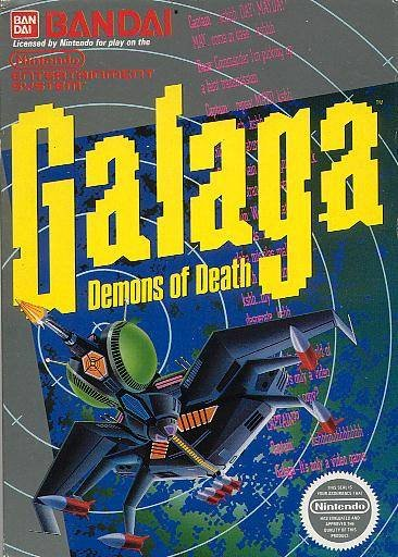 Galaga Cover Artwork
