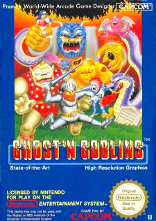 Ghosts 'n Goblins Cover Artwork