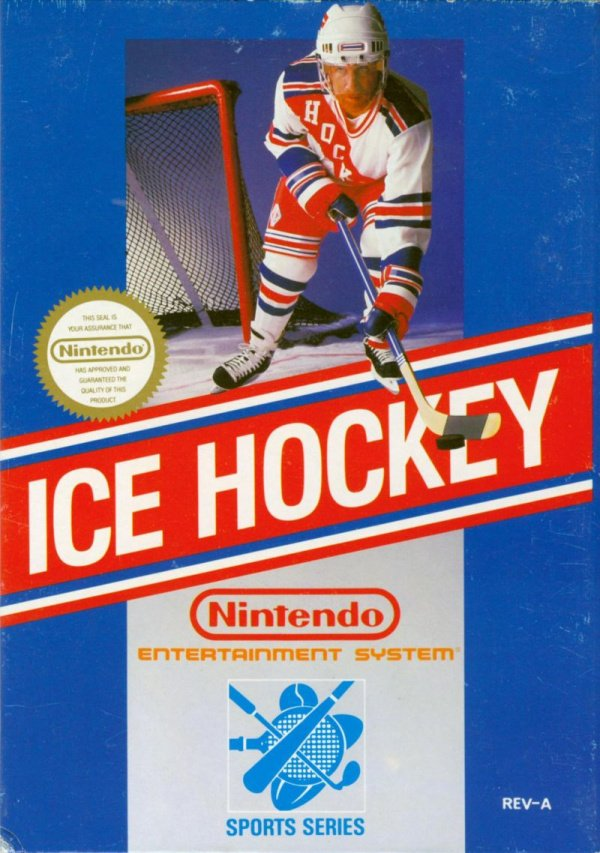 Ice Hockey Cover Artwork