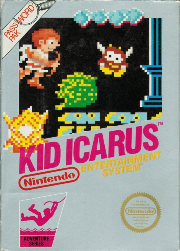 Kid Icarus Cover Artwork