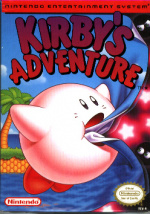 Kirby's Adventure Cover (Click to enlarge)