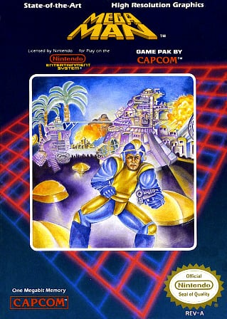 Mega Man Cover Artwork