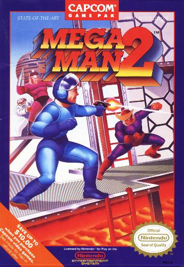 Mega Man 2 Cover Artwork