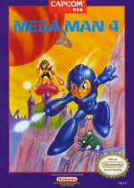 Mega Man 4 Cover (Click to enlarge)