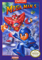 Mega Man 5 Cover (Click to enlarge)