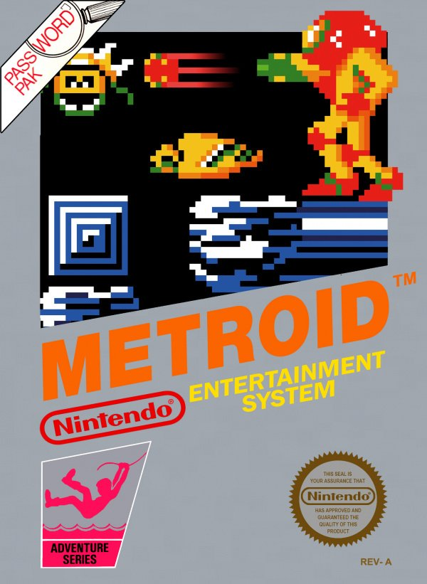Metroid Cover Artwork