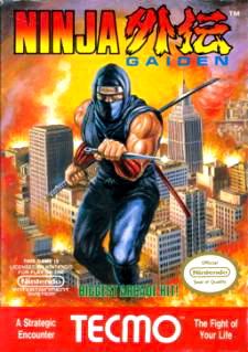Ninja Gaiden Cover Artwork