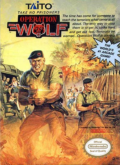 Operation Wolf Cover Artwork