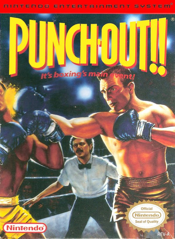 Punch-Out!! Featuring Mr. Dream Cover Artwork