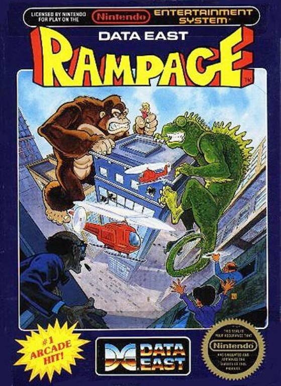 Rampage Cover Artwork