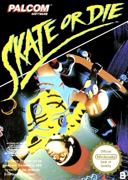 Skate or Die! Cover Artwork