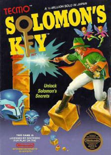 Solomon's Key Cover Artwork