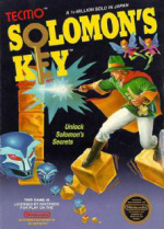Solomon's Key Cover (Click to enlarge)