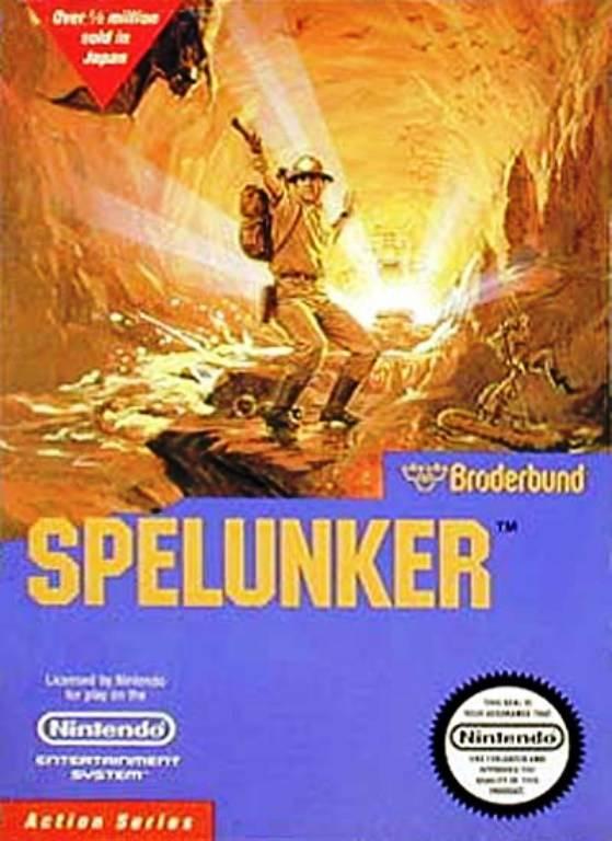 Spelunker Cover Artwork