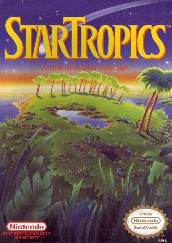 StarTropics Cover Artwork