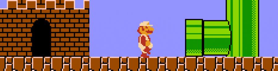 7. Super Mario Bros — NES