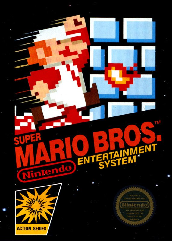 Super Mario Bros. Cover Artwork