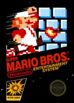 Super Mario Bros. Cover (Click to enlarge)