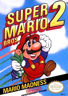 Super Mario Bros. 2 Cover Artwork