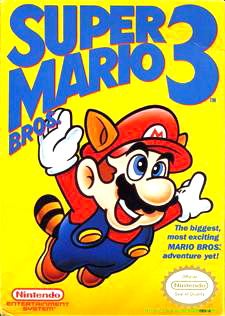 Super Mario Bros. 3 Cover Artwork