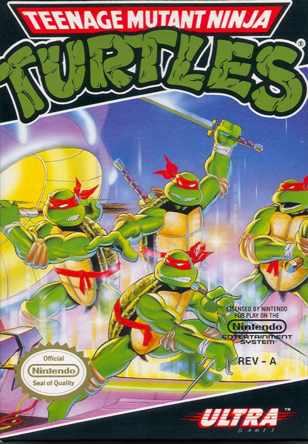 Teenage Mutant Ninja Turtles Cover Artwork