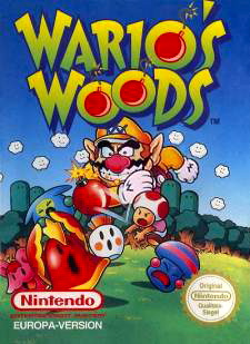 Wario's Woods Cover Artwork