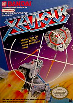 Xevious Cover Artwork