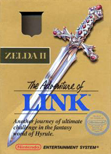 Zelda II: The Adventure of Link Cover Artwork